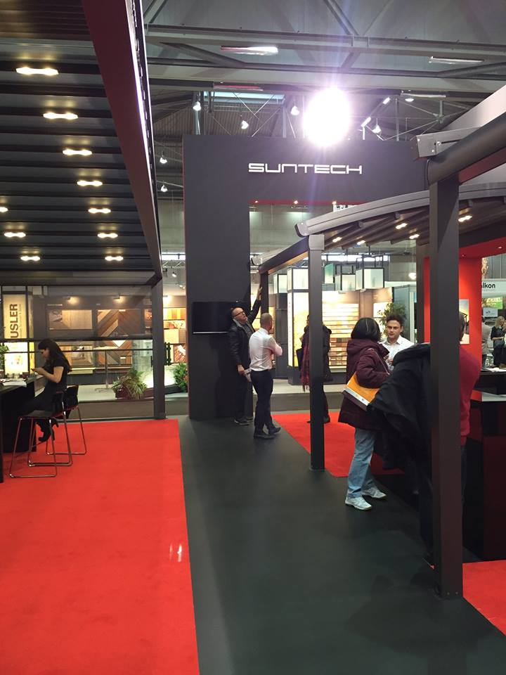 suntech introduced its products to visitors between 05032016 13032016 in wohnen interieur fair held in vienna